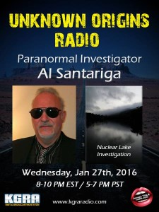Unknown Origins Radio Interview January 27, 2016