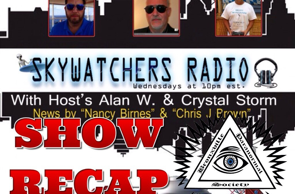 RECAP of the BPS on the March 30, 2016 Skywatchers Radio show