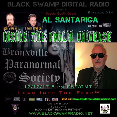 Al Santariga is the guest on Inside the Goblin Universe.